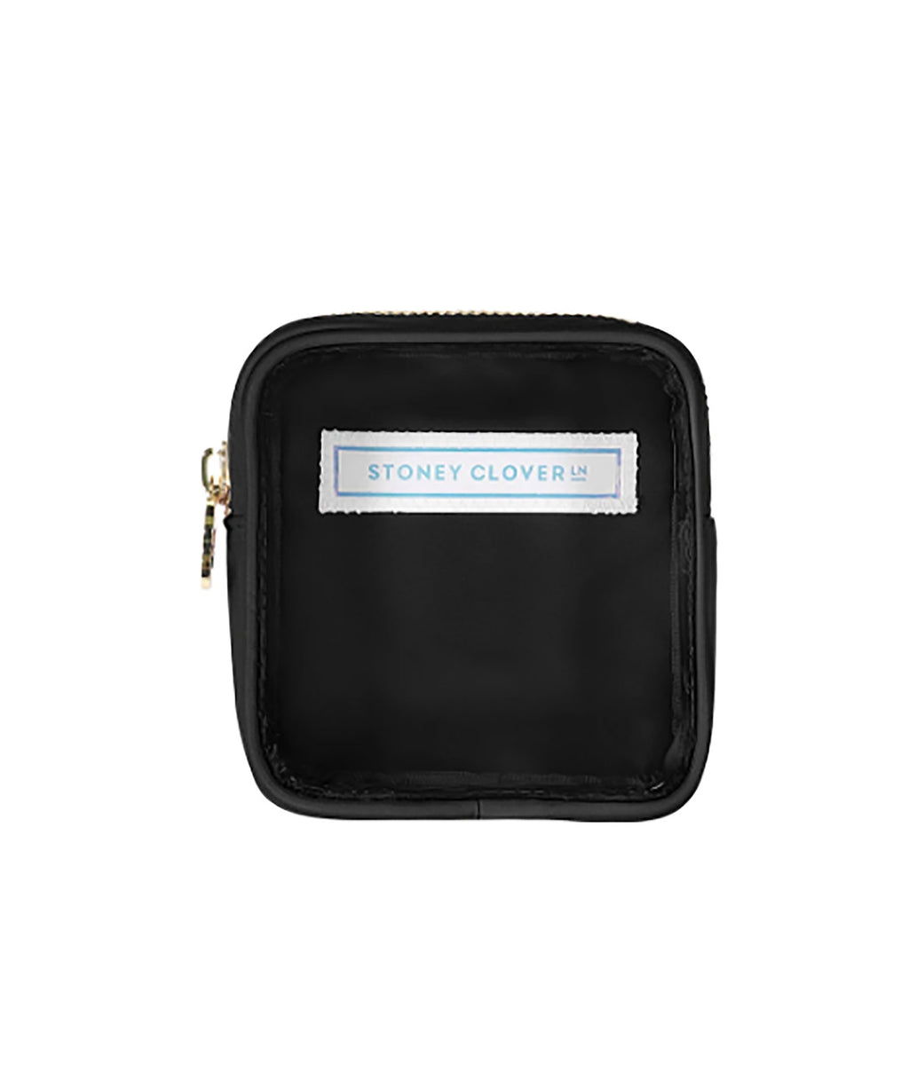 Stoney Clover Mini Noir Clear Pouch