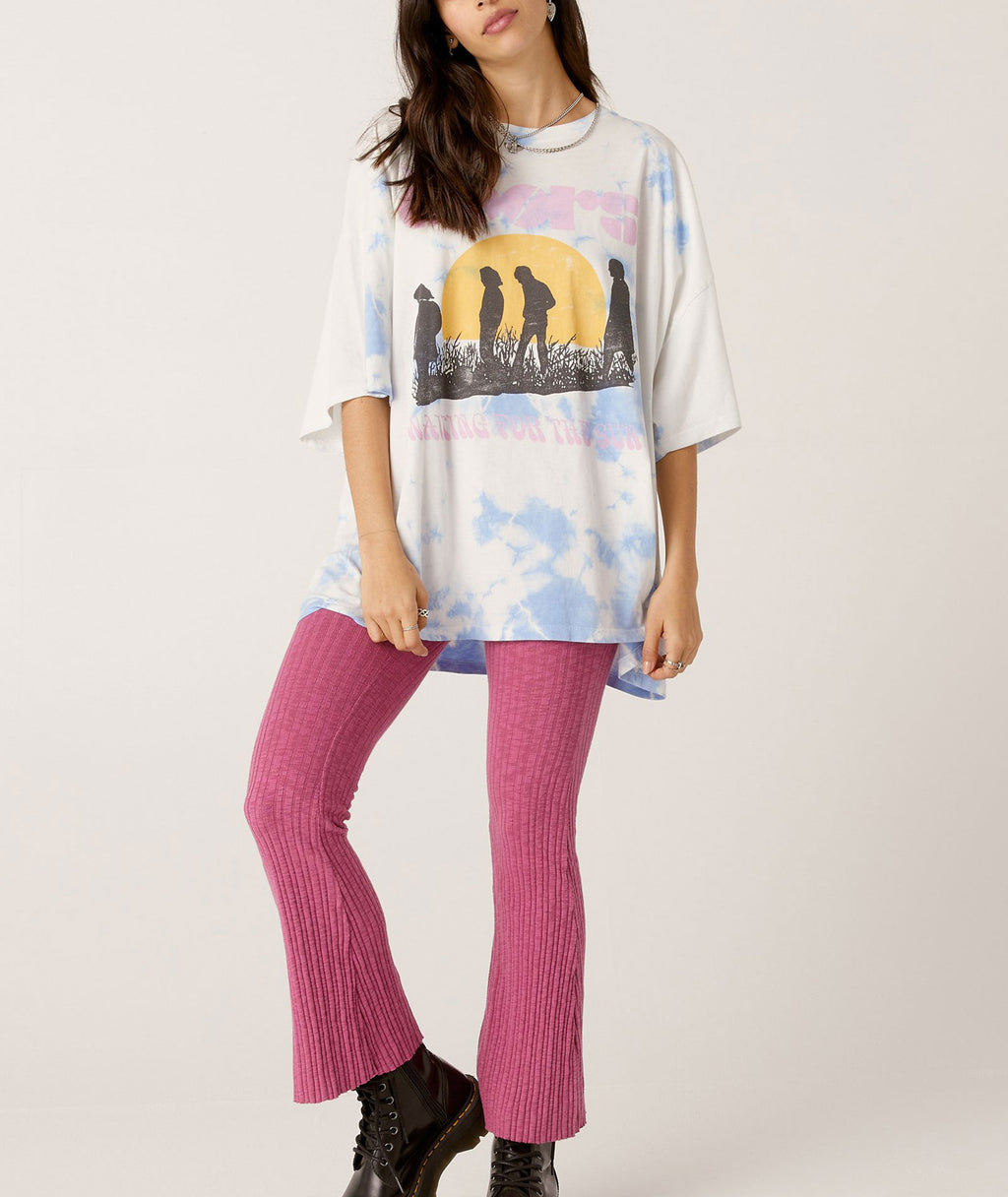 Daydreamer Women The Doors Waiting For the Sun Periwinkle Tee