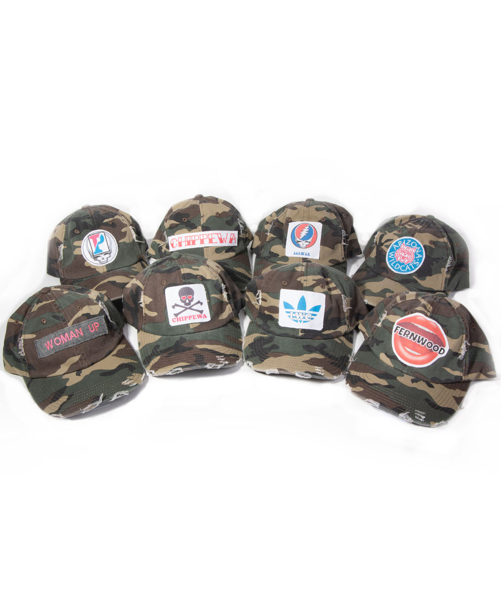 Tee 2 You Camo Embroidered Hat