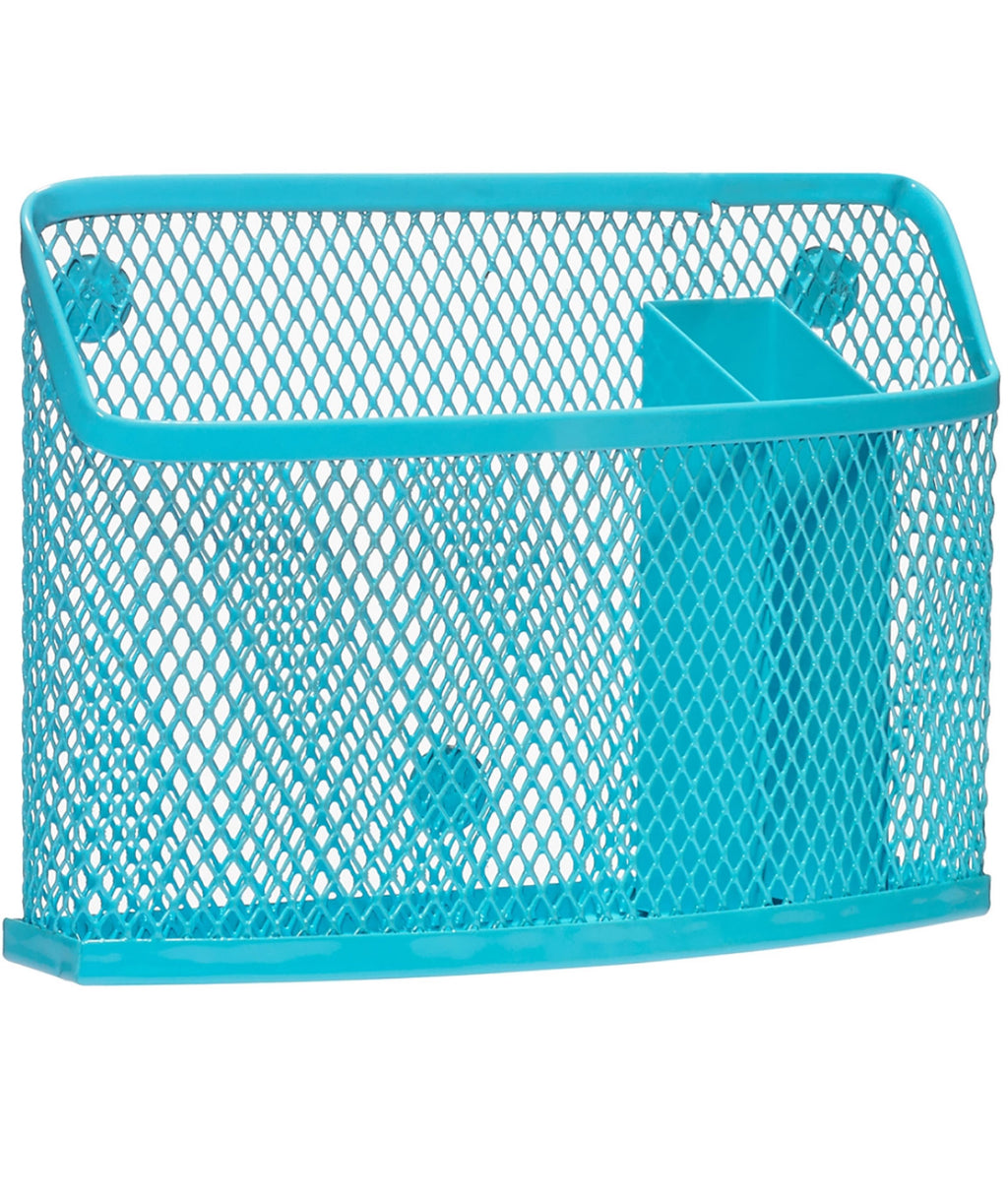 Three Cheer for Girls Turquoise Storage Bin