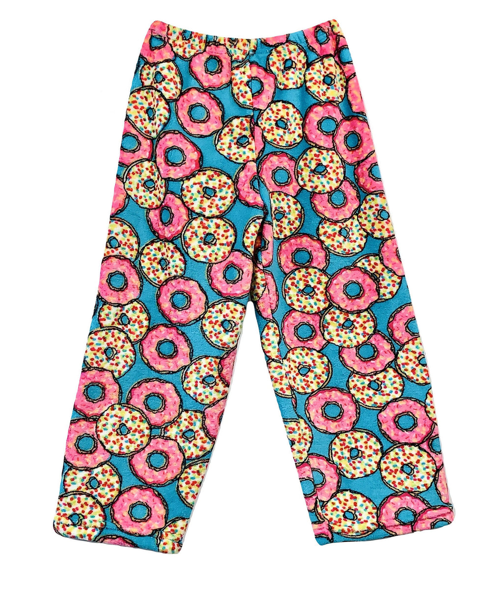 Made with Love and Kisses Donut Plush Pants