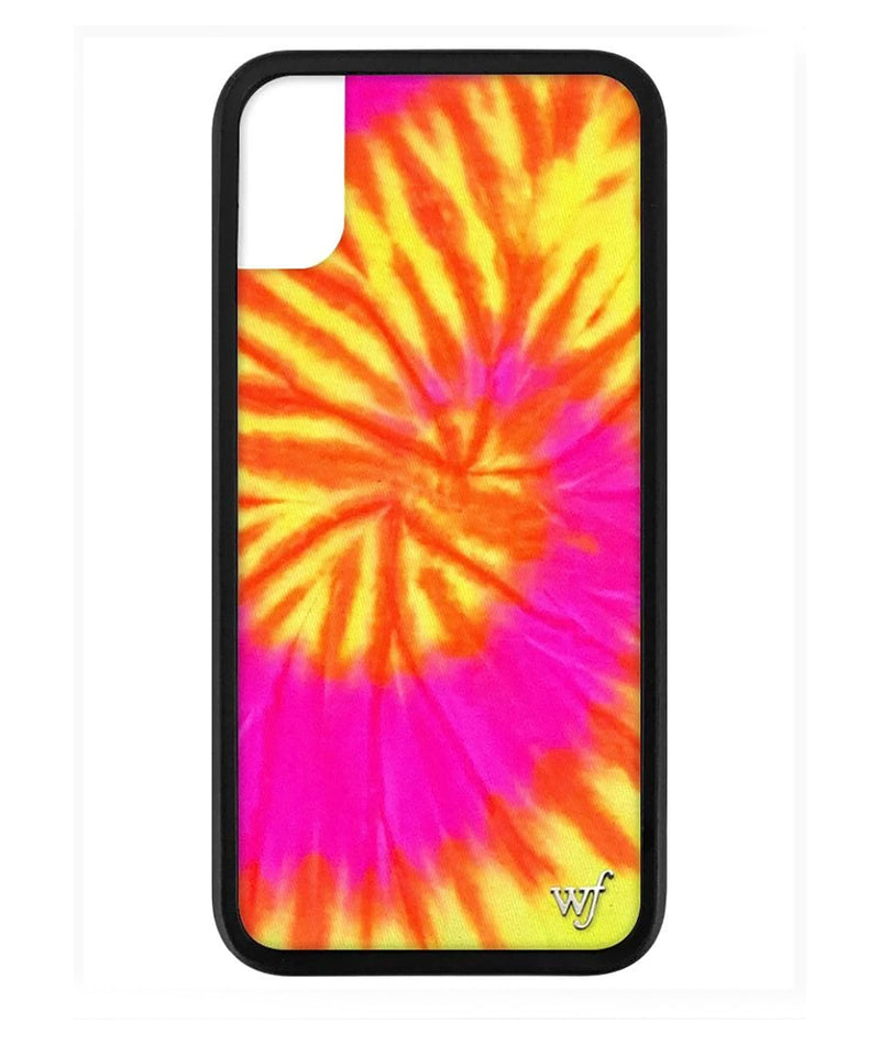 Wildflower Phone Case Swirl Tie-Dye