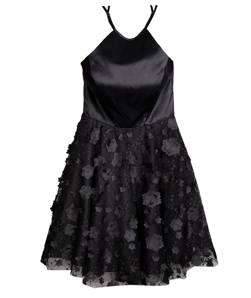 Alyce Women Black Diamond Dress
