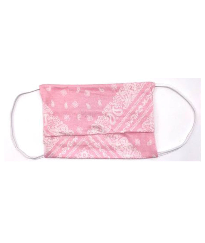 American Mask Project Adult & Kids Pink Bandana 2 Pack