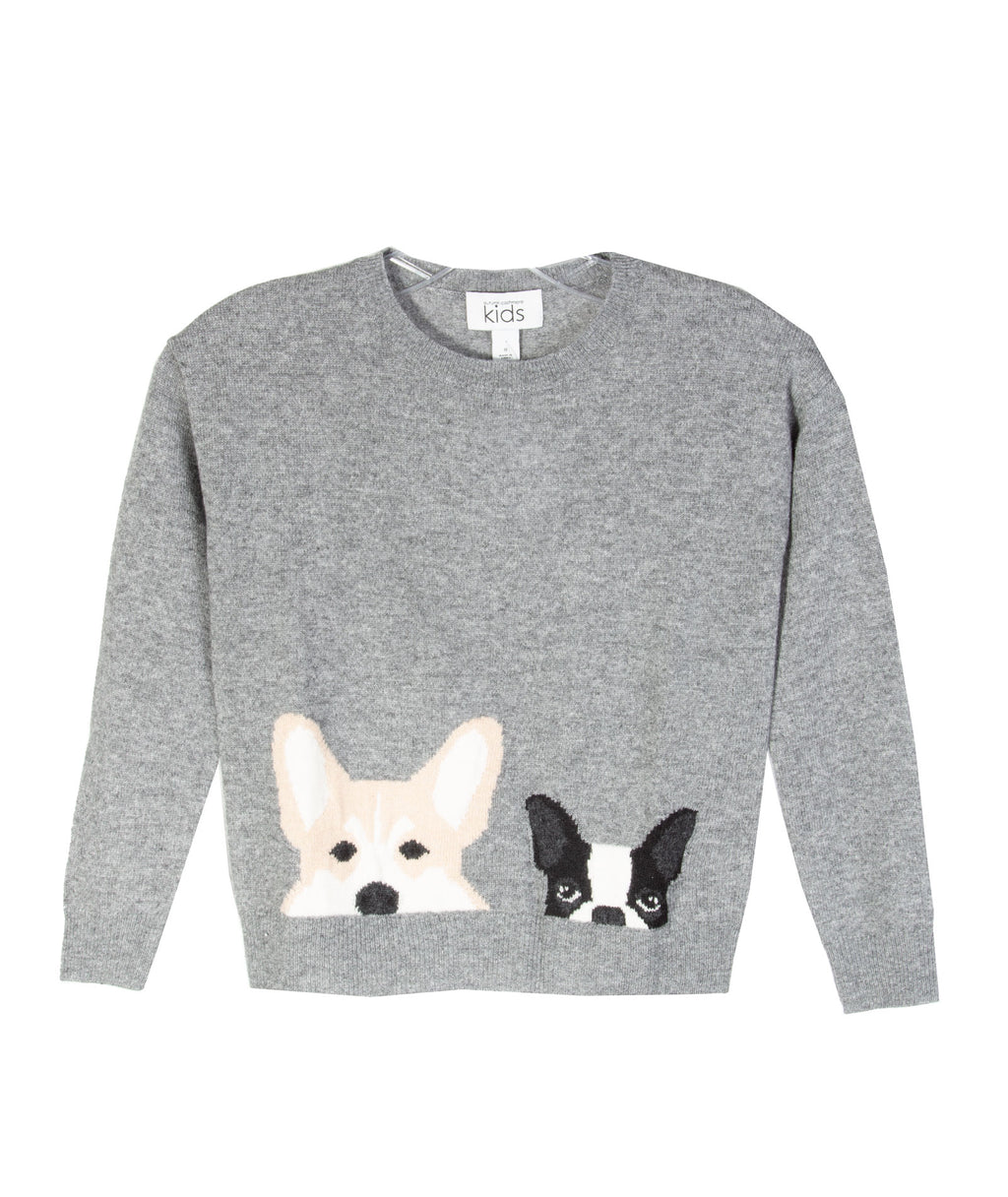 Autumn Cashmere Girls Dogs Sweater