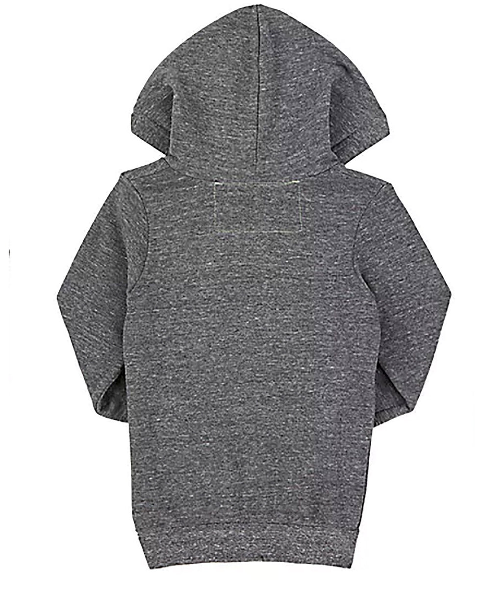 Aviator Nation Kids Heather Grey 5 Stripe Hoodie