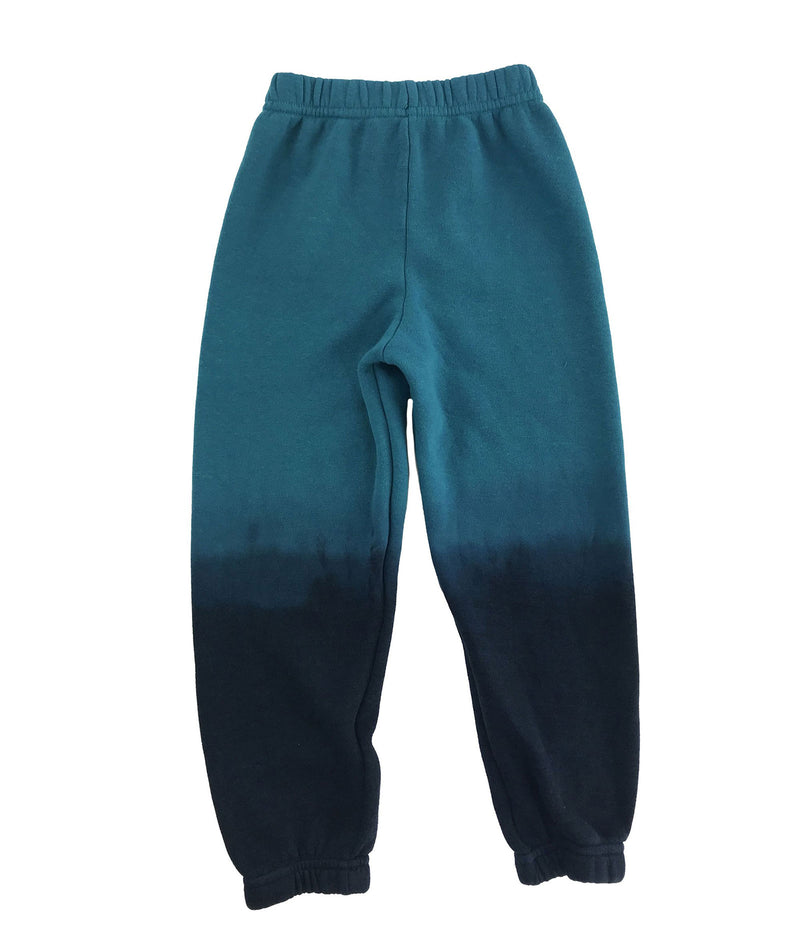 Aviator Nation Girls Teal Ombre Sweatpants