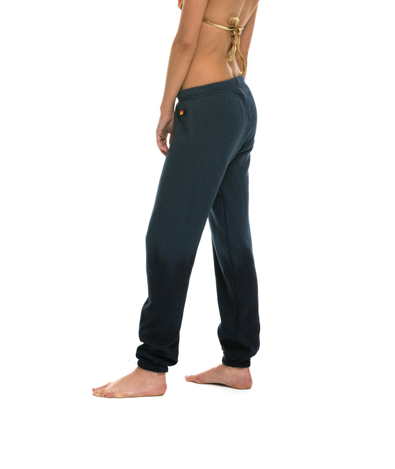 Aviator Nation Women Faded Vintage Navy Sweatpants