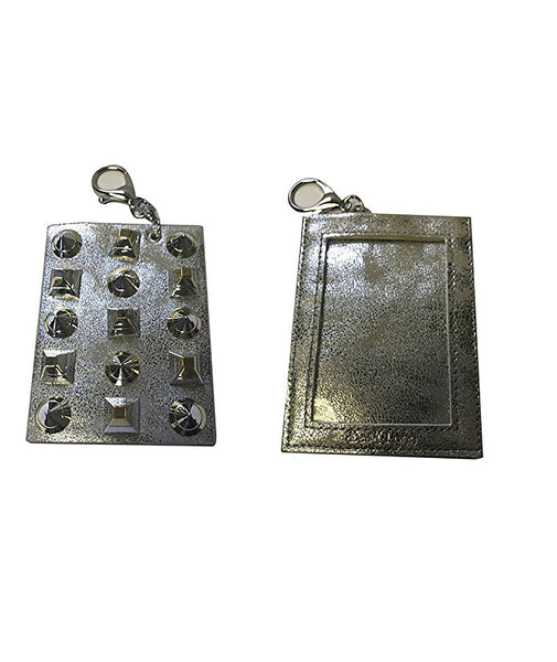 Bari Lynn Studded Keychain Card Holder