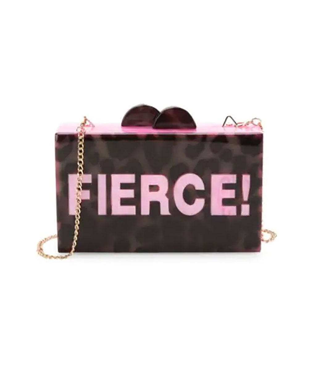 Bari Lynn Fierce Box Bag