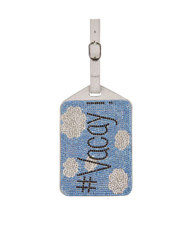 Bari Lynn I'm Outta Here Crystal Luggage Tag