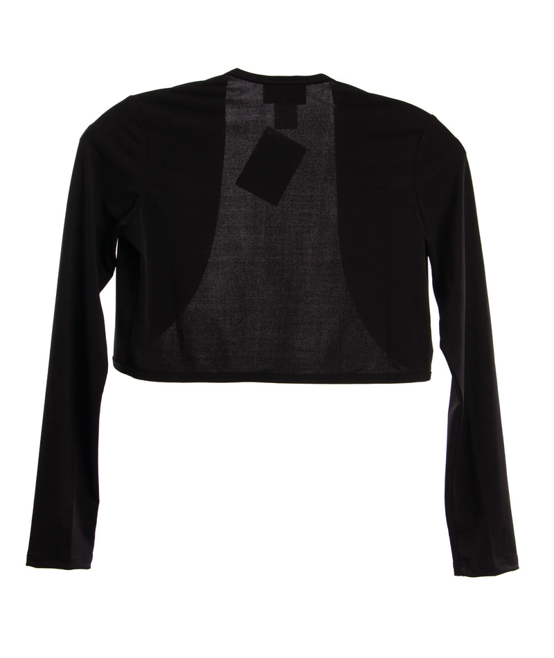 By Debra Girls Black Cropped Shrug - Frankie's on the Park