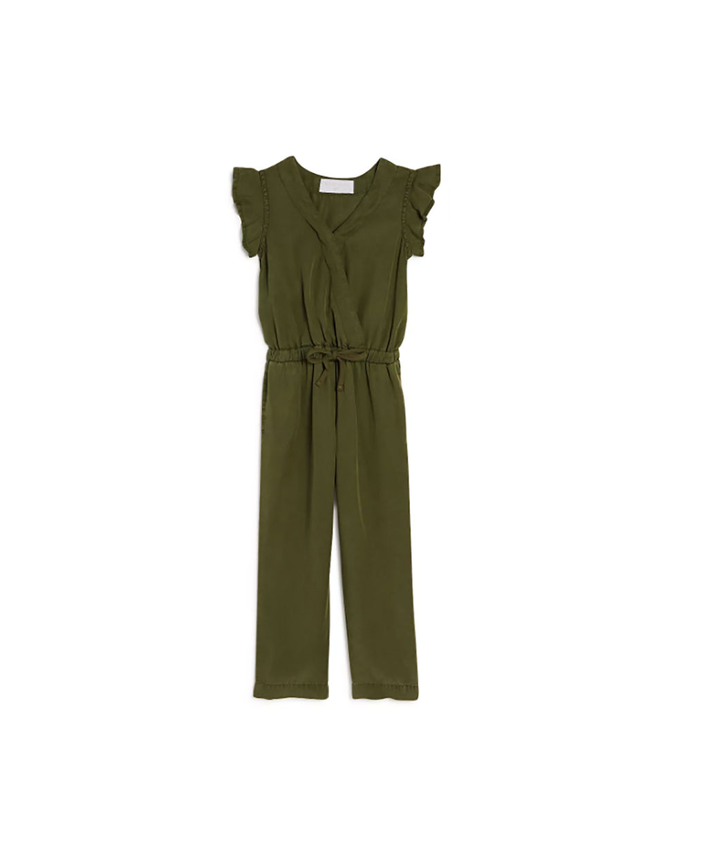 Bella Dahl Girls Ruffle Jumpsuit