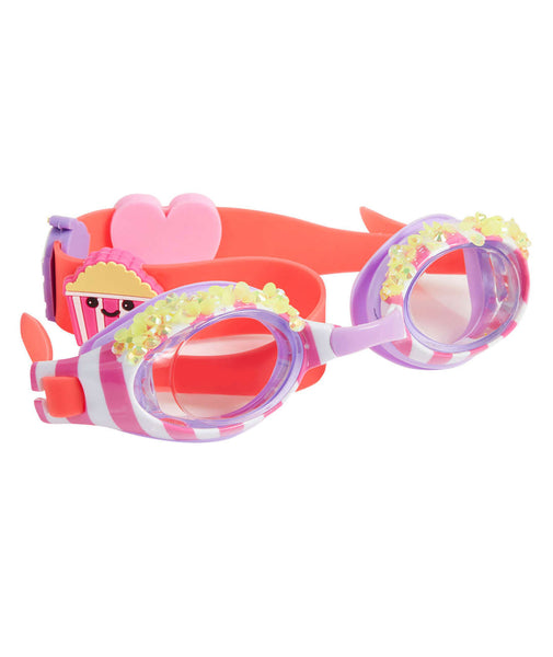 Bling2o Girls Bling Popcorn Swim Goggles