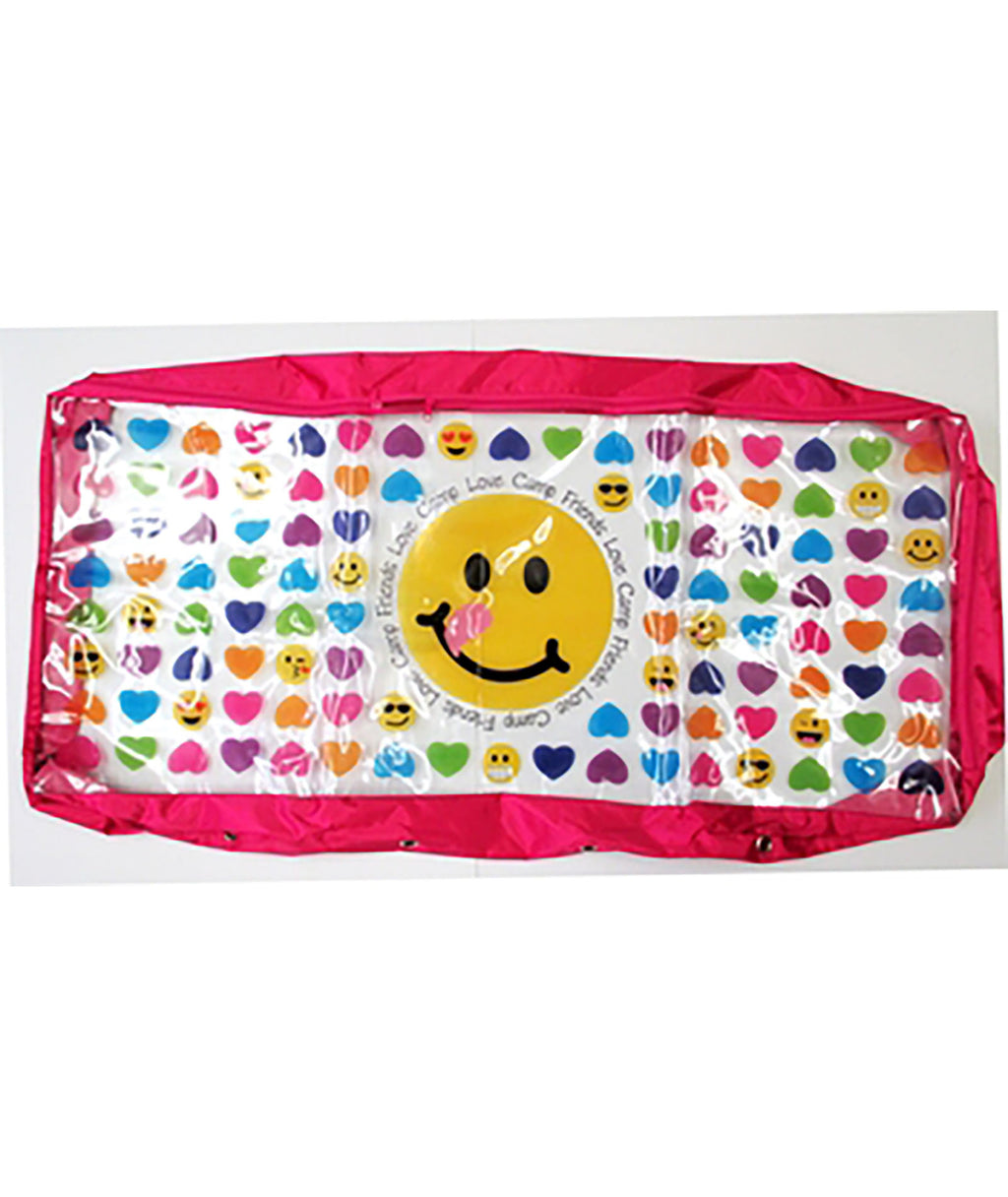 Confetti and Friends Hearts and Emoji Under Bed Storage - Frankie's on the Park