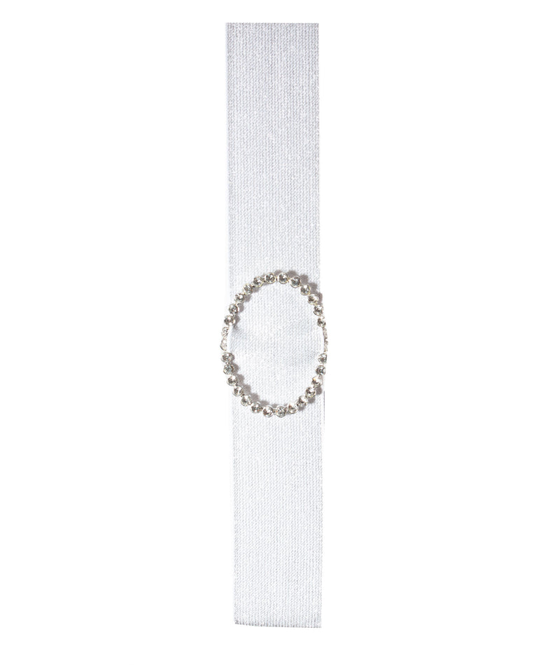 Deepa Gurnani Double Oval Crystal Headband