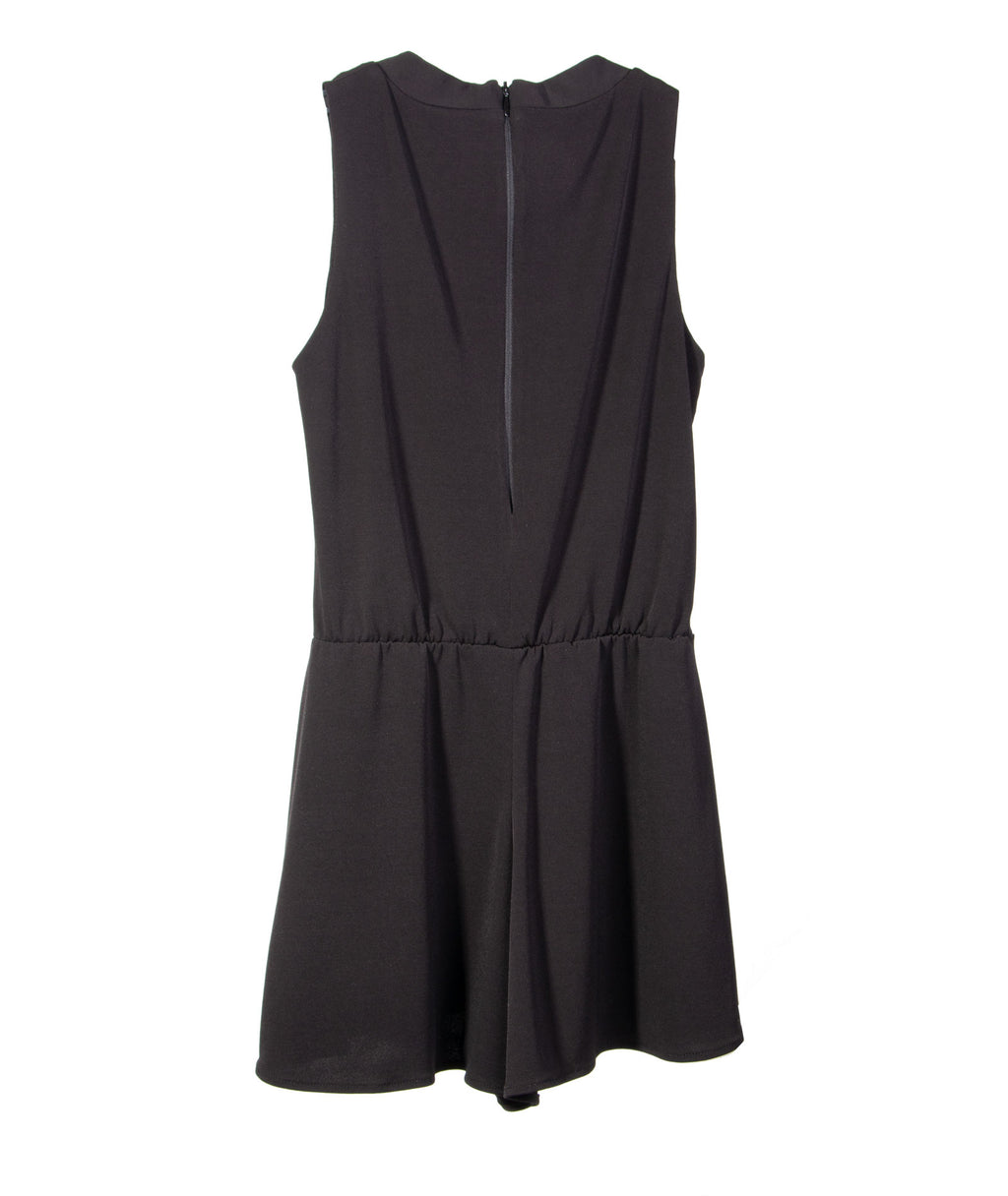 By Debra Girls Ity Romper Black