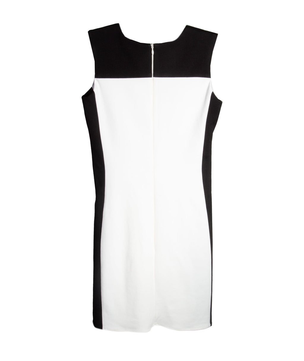 By Debra Girls Ponte Heath Ivory Black