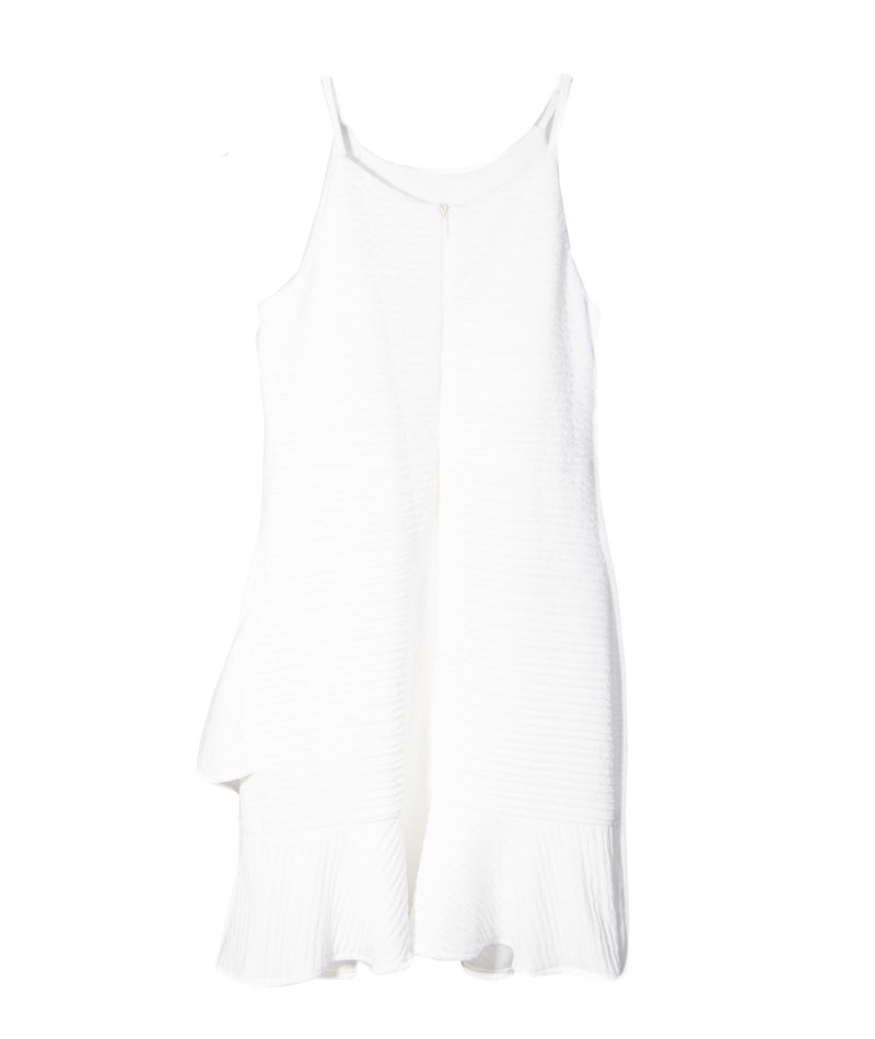 By Debra Girls White Ruffle Dress