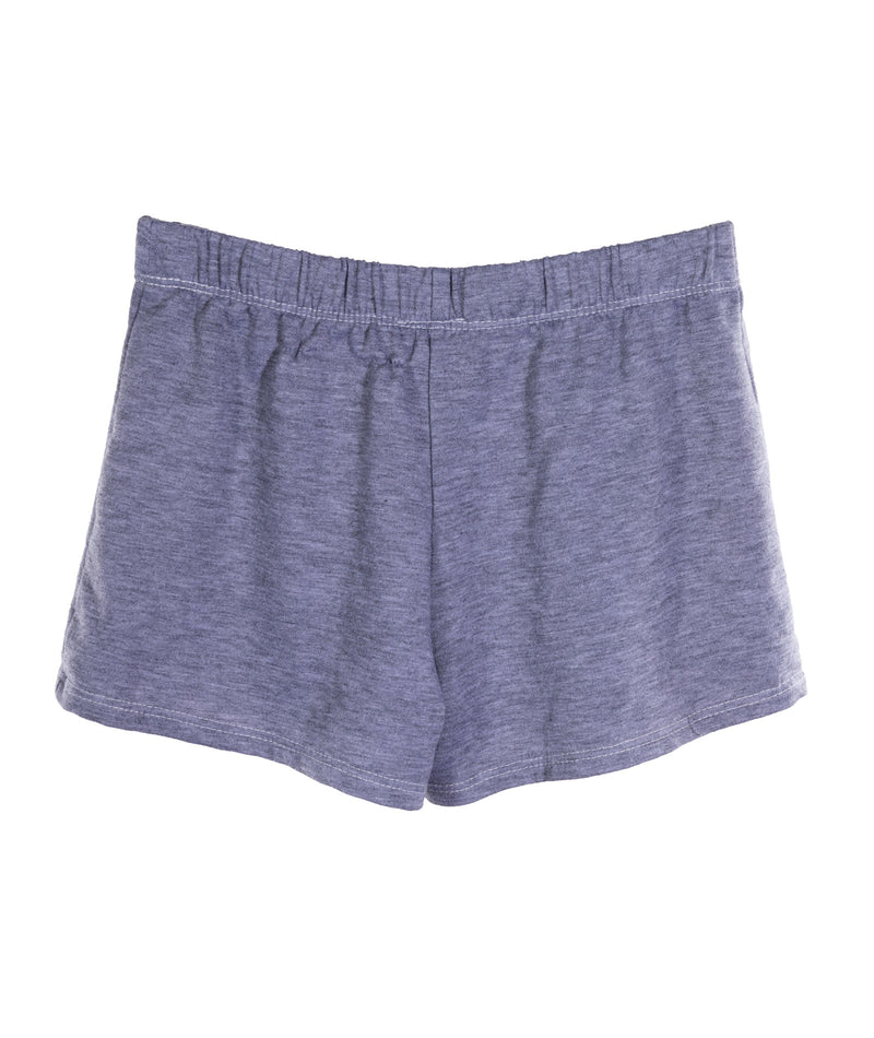 Glitter Rainbow Shorts Heather Grey Juniors