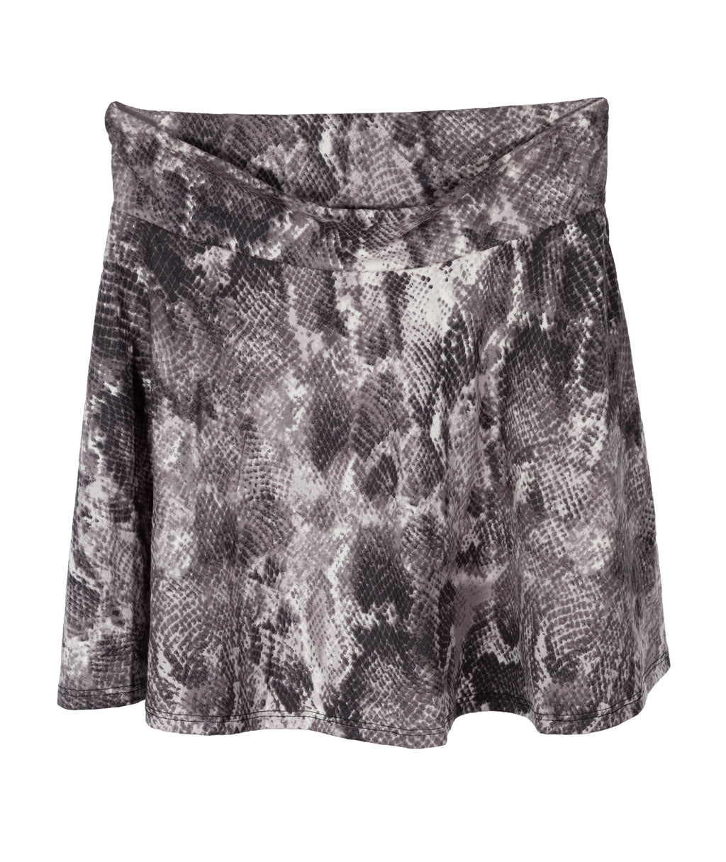 Cheryl Creations Girls Suede Snake Skirt