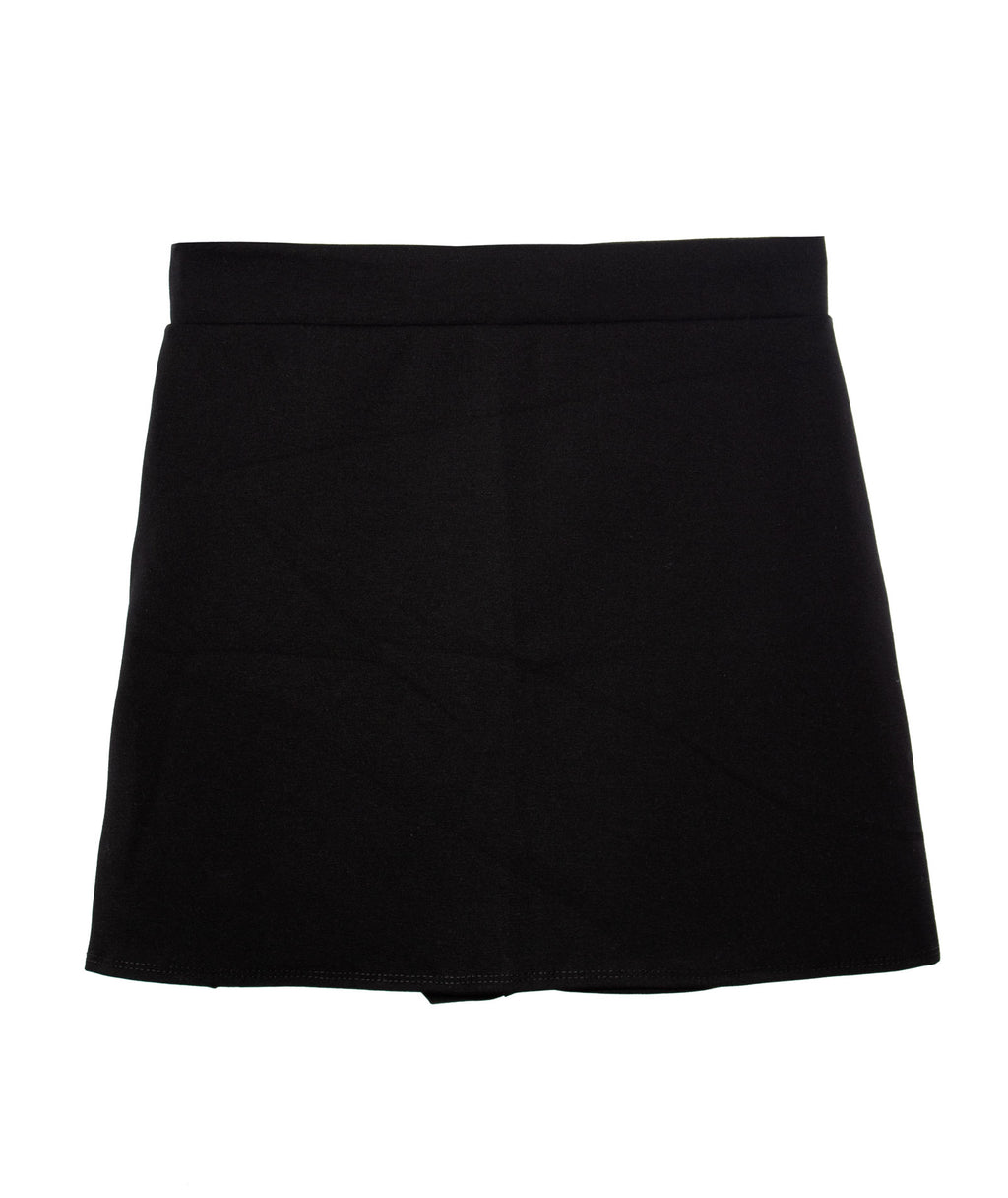 Cheryl Creations Girls Black Envelope Skirt