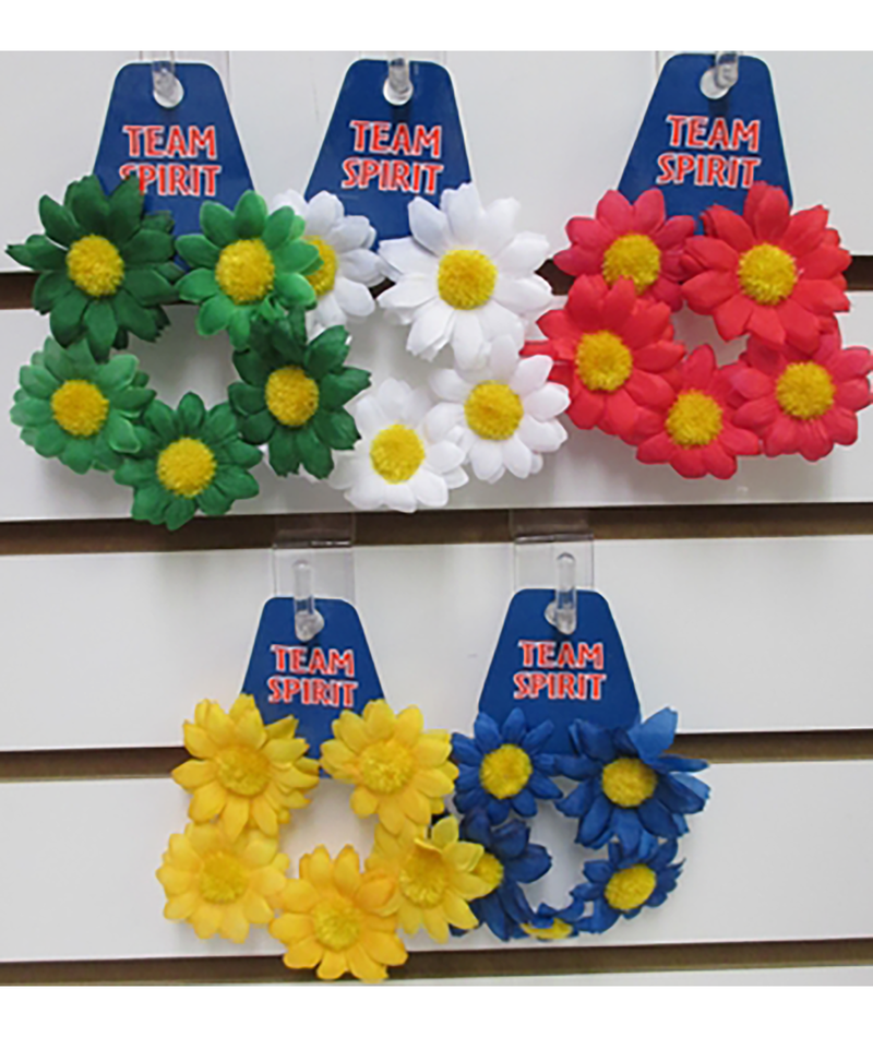 Confetti and Friends Color War Daisy Scrunchie | Frankie's on the Park