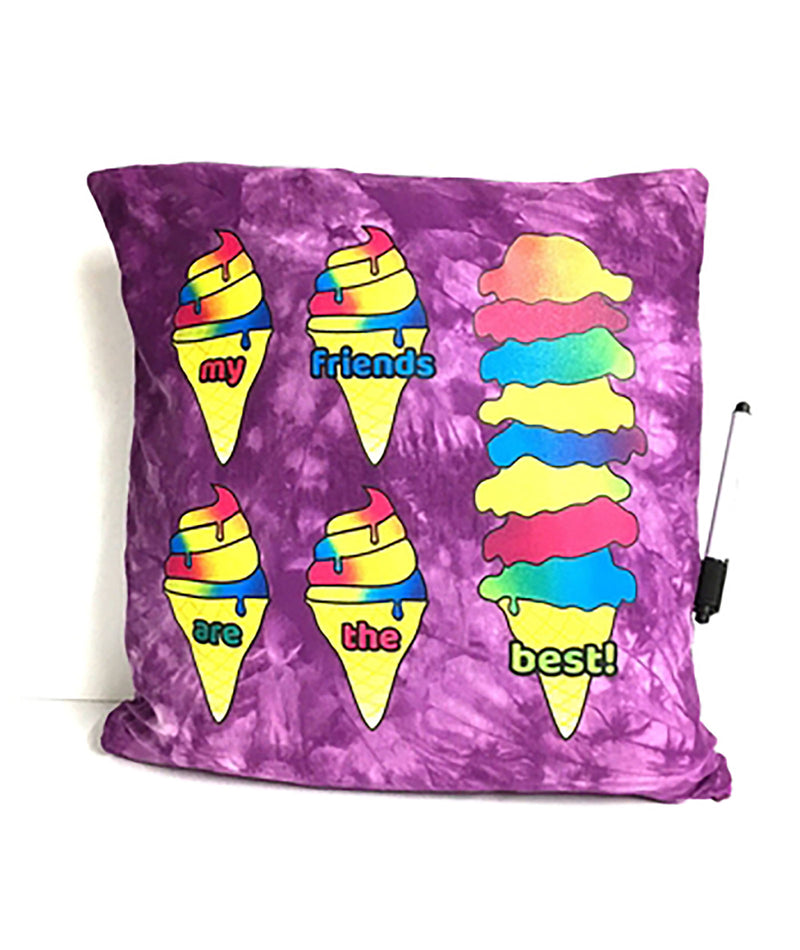 Ice Cream Friends Pillow