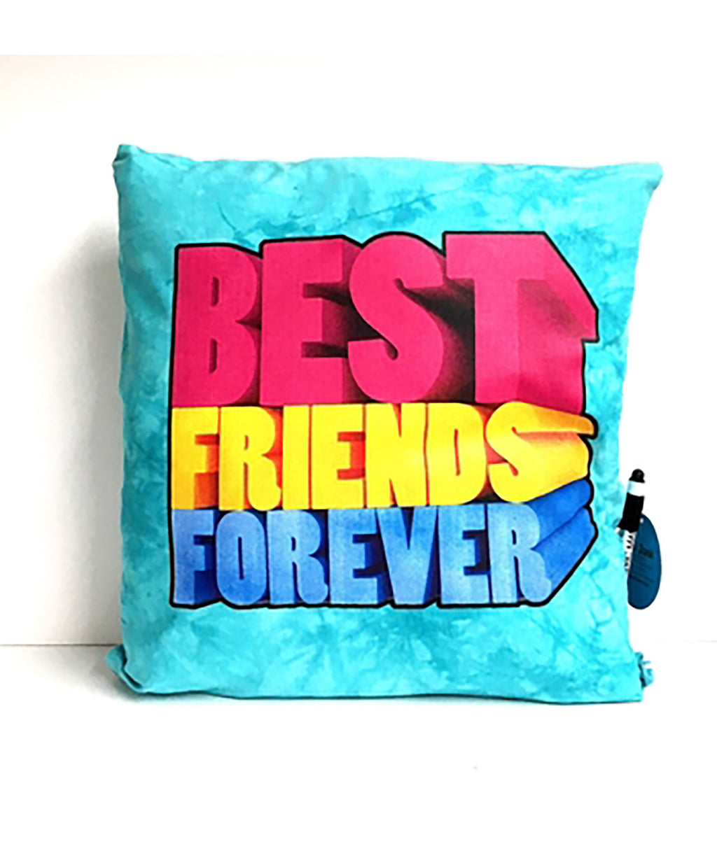 Confetti and Friends Best Friends Forever Pillow