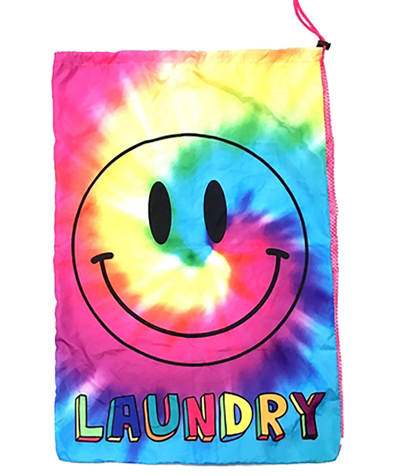 Confetti and Friends Rainbow Smile Laundry Bag