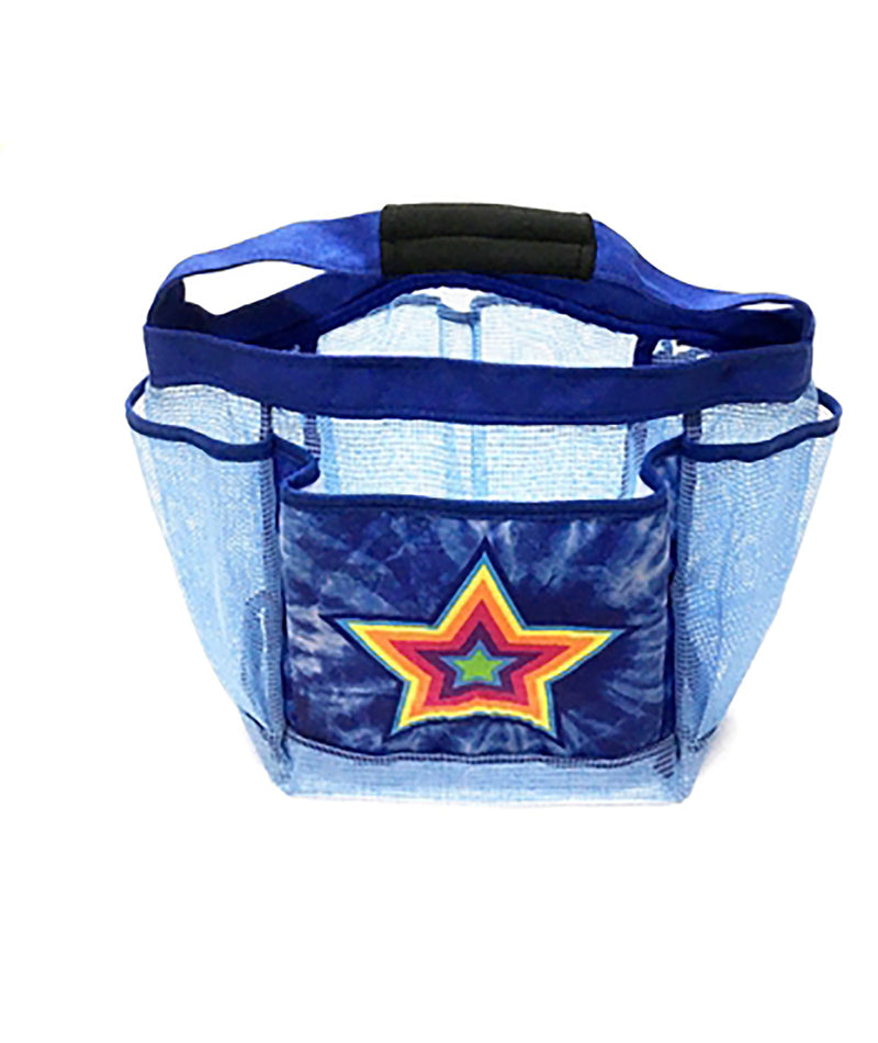 Confetti and Friends Blue Star Shower Caddy