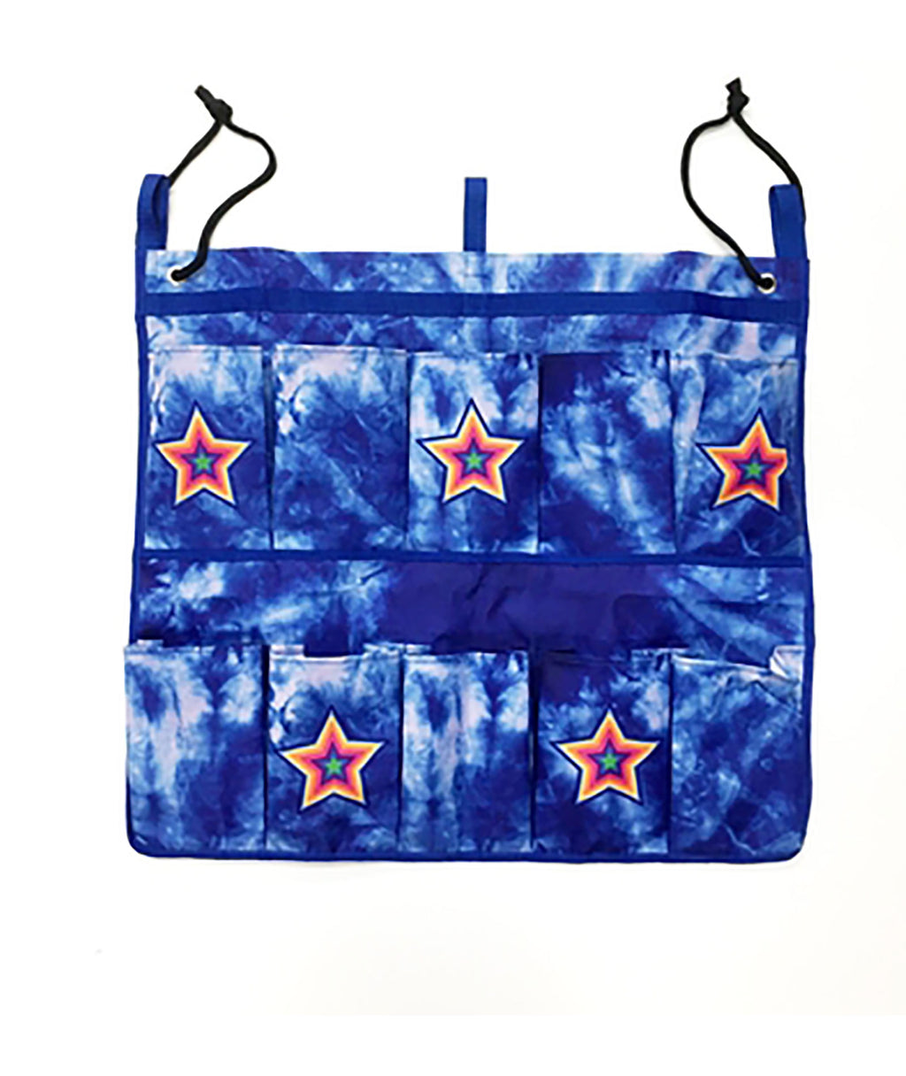 Confetti and Friends Blue Star Shoe Bag