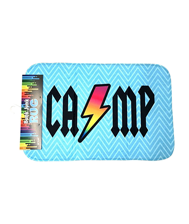 Confetti and Friends Camp Bolt Bath Mat
