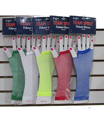 Confetti and Friends Color War Fishnet Gloves - Frankie's on the Park