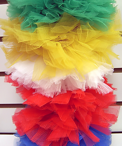 Confetti and Friends Color War Camp Tutu Pony Tails - Frankie's on the Park