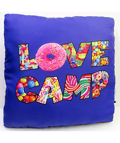 Confetti & Friends Love Camp Candy Autograph Pillow - Frankie's on the Park