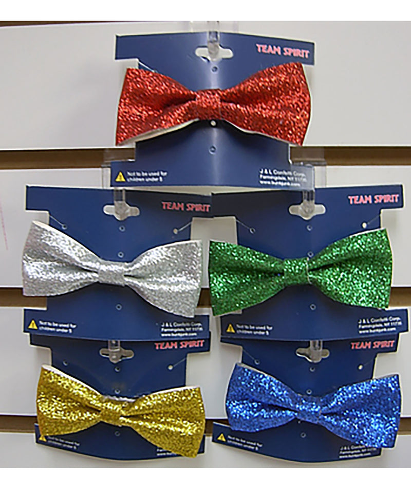Color War Face Sequin Bow Clip - Frankie's on the Park