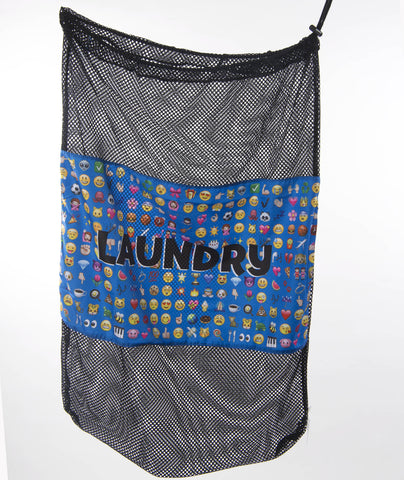 Confetti and Friends Emoji Laundry Bag - Frankie's on the Park