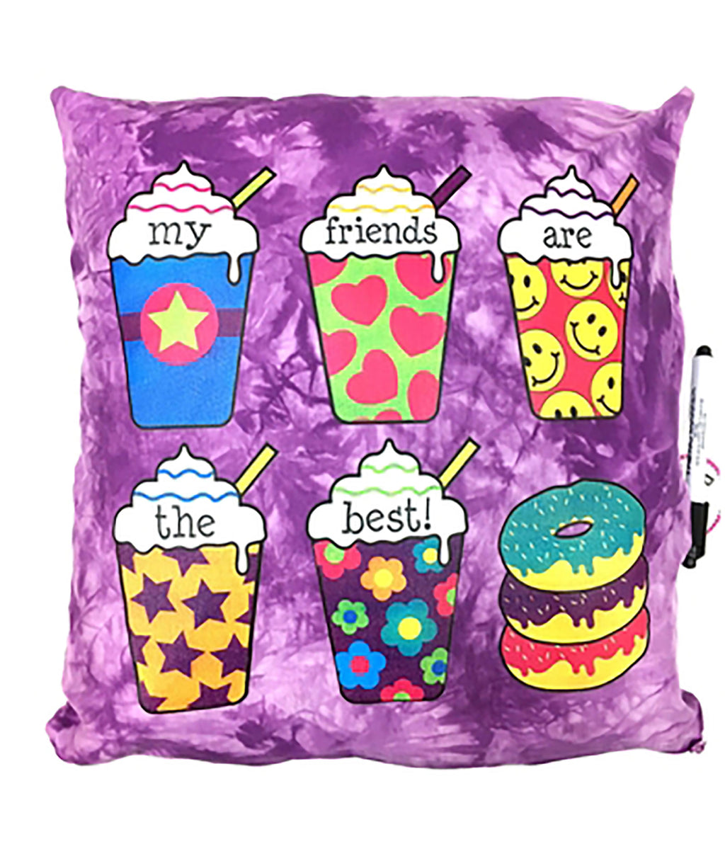 Confetti & Friends Frappe Autograph Pillow - Frankie's on the Park