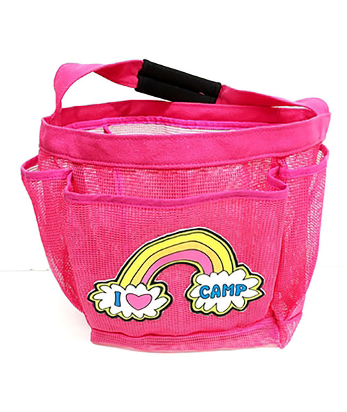 Confetti and Friends Rainbow Love Camp Shower Caddy