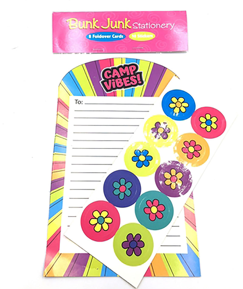 Confetti and Friends Camp Vibes Fold Over Stationery - Frankie's on the Park