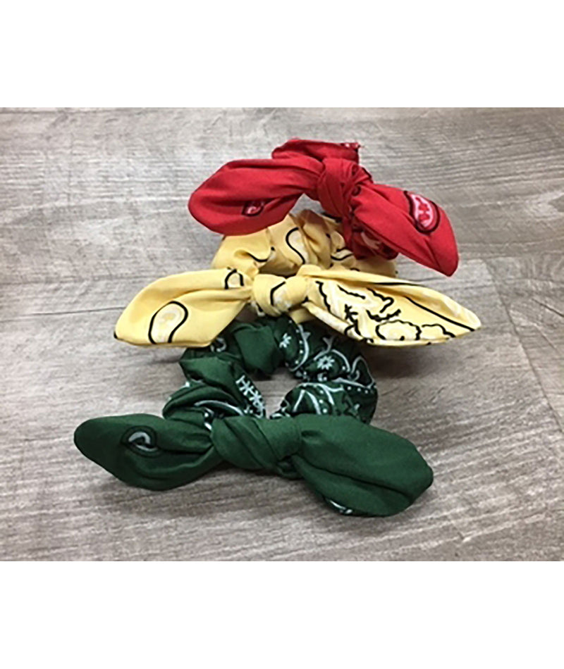 Confetti and Friends Bandana Tie Scrunchie