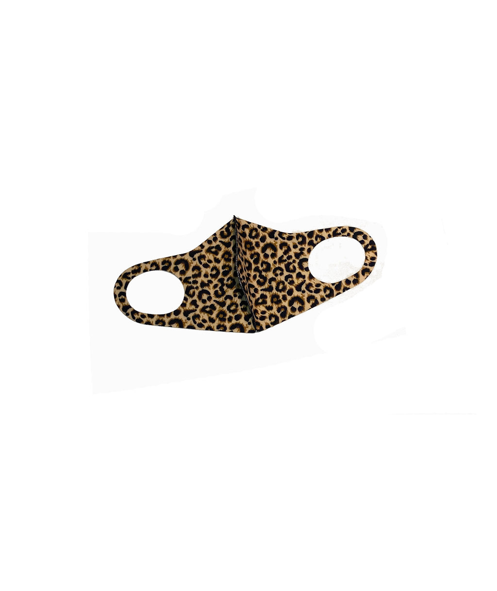 Confetti and Friends Adult Light Brown Cheetah Mask - IN-STOCK