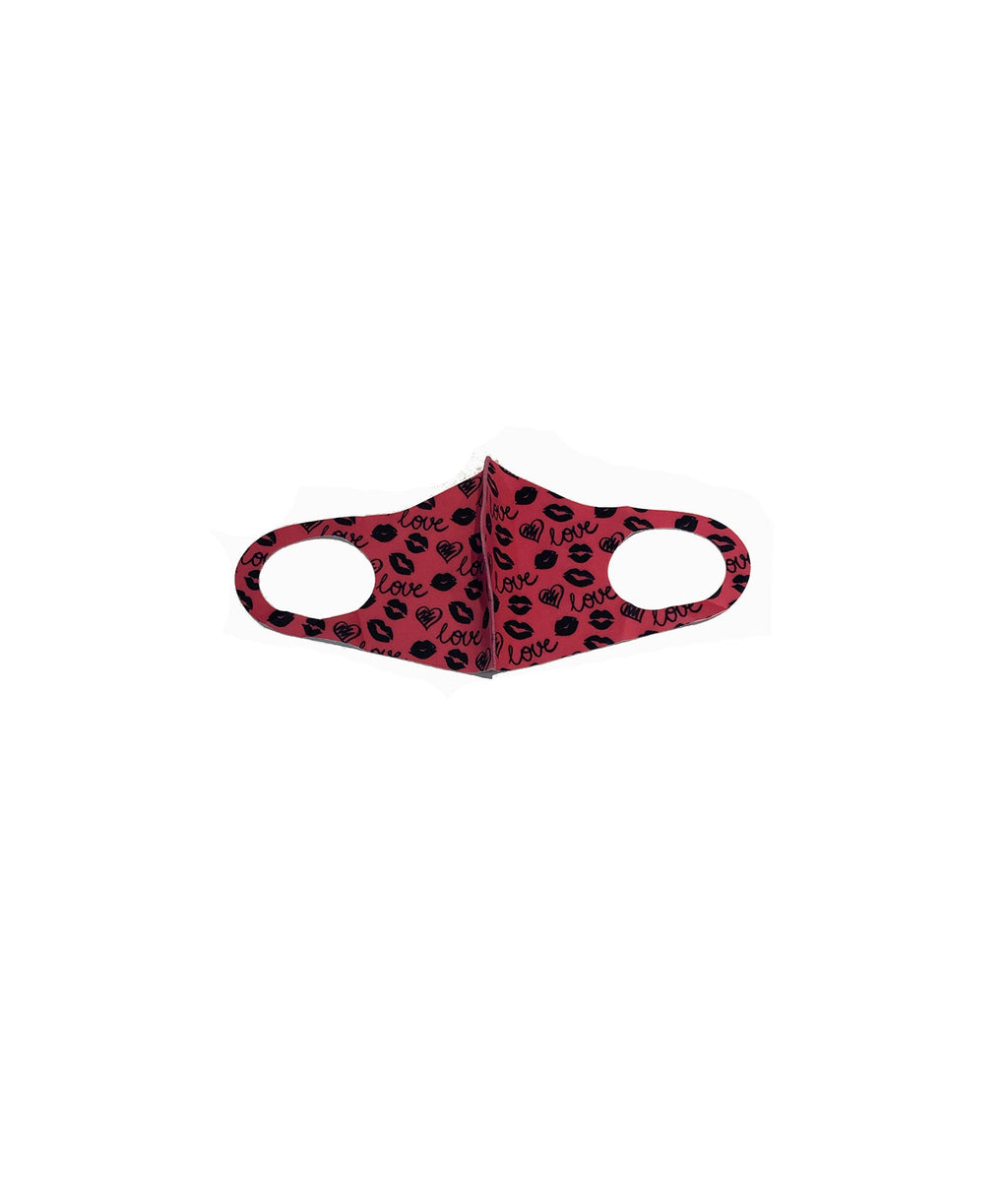 Confetti and Friends Adult Pink Love Mask - IN-STOCK