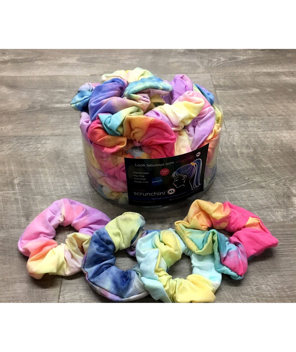 Confetti and Friends Jersey Tie-Dye Scrunchie