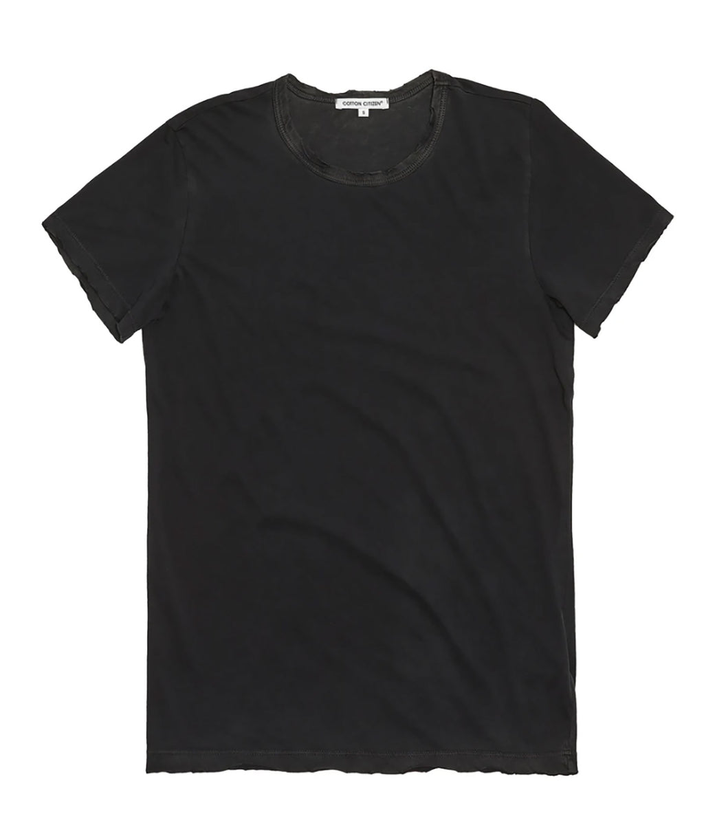 Cotton Citizen Women Vintage Black Standard Tee