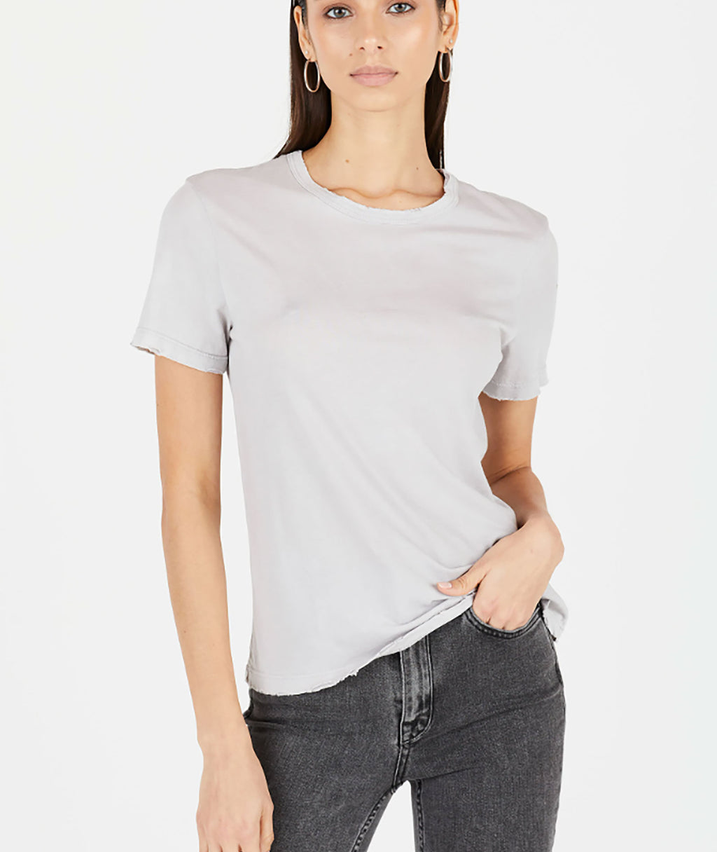 Cotton Citizen Women Vintage White Standard Tee
