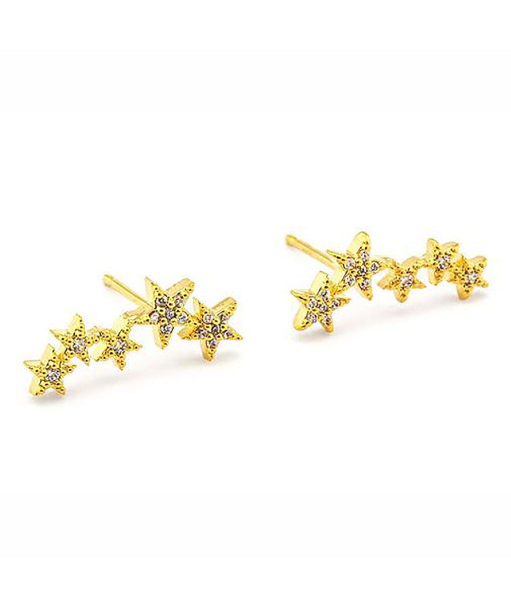 TAI Five Star Constellation Earrings