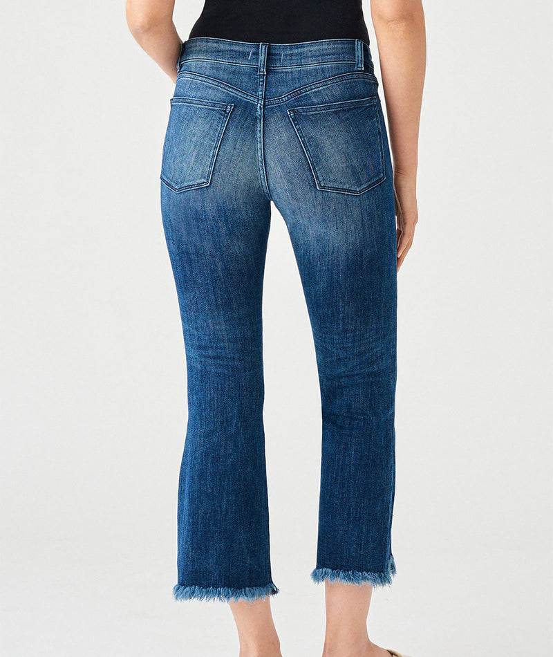 DL1961 Women Bridget Crop Bootcut Jeans
