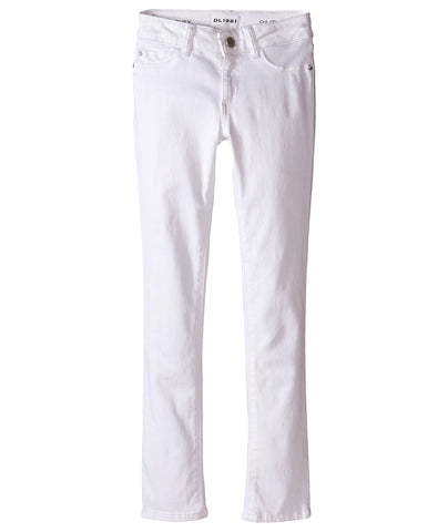 DL 1961 Girls Chloe White Jeans